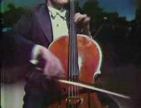 Piatigorsky plays Saint-Saens allegro appassionato