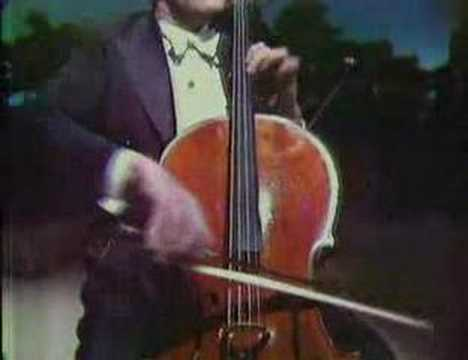 Piatigorsky plays Saint-Saens allegro appassionato