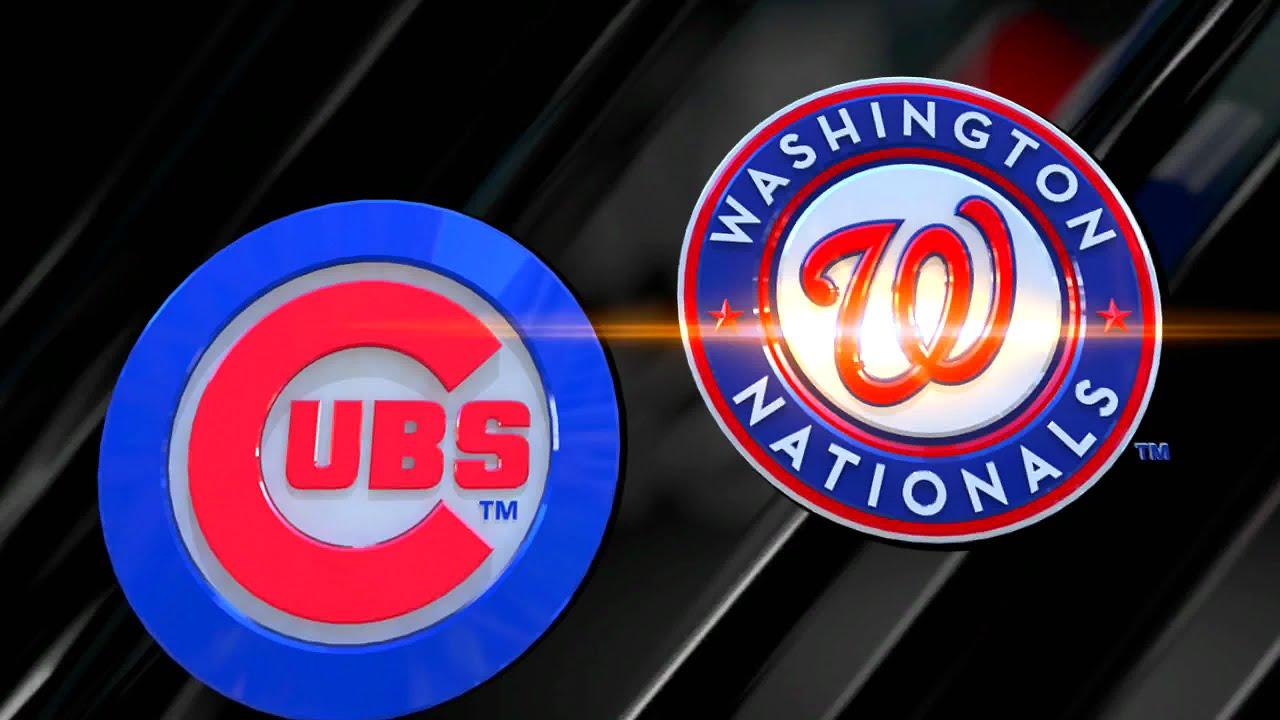 Image result for washington nationals vs chicago cubs