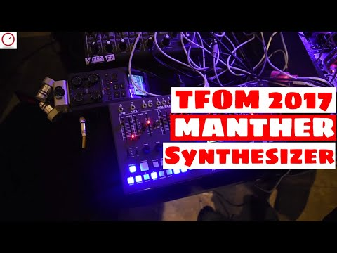 Tokyo Festival Of Modular 2017: Malekko MANTHER Synthesizer First Look | SYNTH ANATOMY