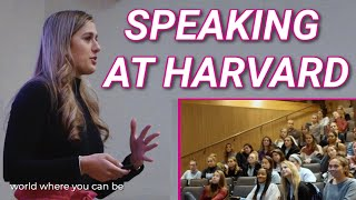 Victoria Garrick Speaks At Harvard | Body-Image & Self-Love | Female Athletes