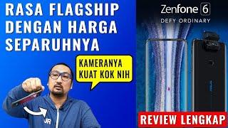 Rasa Kelas Atas, Harga Miring: Review ASUS ZenFone 6, Baterai 5000 mAh & Kamera Flip - Indonesia