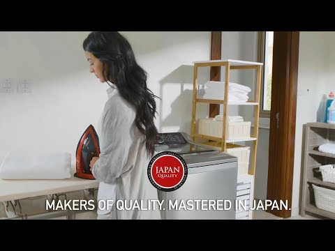 Makers of Quality. Mastered in Japan. (Garments Care)