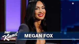 Megan Fox on Machine Gun Kelly's Outfits, Doing Ayahuasca with Him in Costa Rica & New Thriller