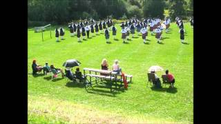 100 Pipers Bonnie Dundee Mass Bands Guelph 2015