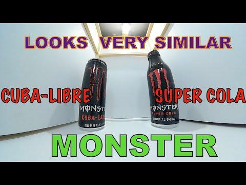 MONSTER Energy COMPARE Looks very similar(CUBA-LIBRE  SUPER COLA)