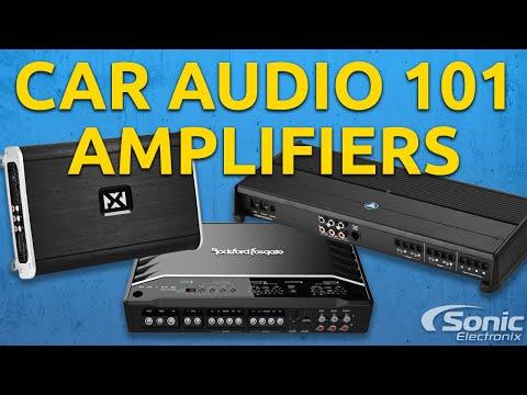 Amplifiers: General   Car Audio 101