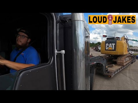 Heavy Haul Trucker | How To Detach And Attach RGN Lowboy Trailer