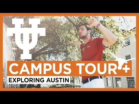 UT Campus Tour + Exploring Austin // Travel Vlogs