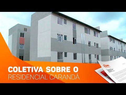 Coletiva sobre o residencial Carandá - TV SOROCABA/SBT