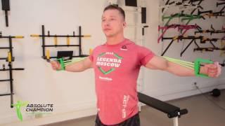Упражнения для укрепления плечевого пояса на эспандере Т-5