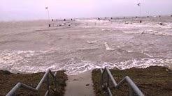 Sturmflut 22.10.2014 Emden - Knock