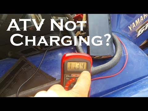 ATV Not Charging? Watch This Before Buying Parts!