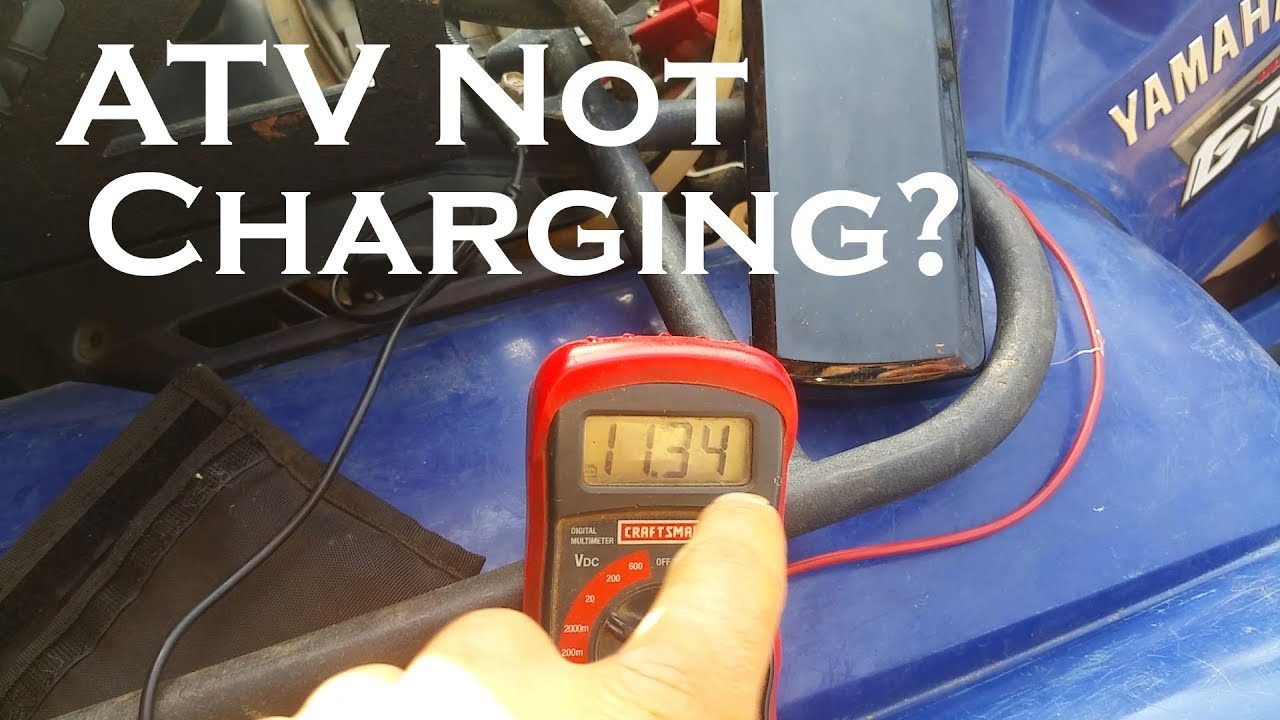 Atv Not Charging Watch This Before Buying Parts Youtube Arctic Cat 650 H1 Wiring Diagram