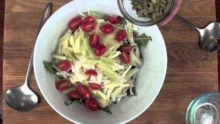 Chat'n Dish: E31 - Dandelion, Apple, Fennel Salad
