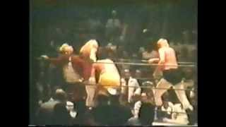 70s Wrestling Brown/Rossi vs Kent/Gallagher Memphis