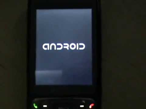 Android running on HTC TyTN 2 (Kaiser, V1615, MDA Vario III)