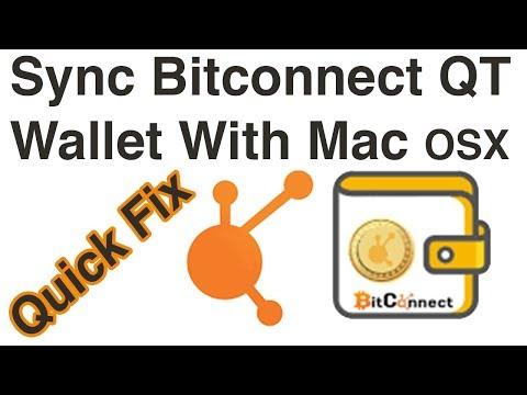 Quick Fix | Bitconnect QT Wallet Out Of Sync 🖥️ Mac OSX