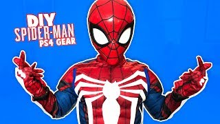 Marvel Spider-Man PS4 Gear Test! (DIY Costume) | KIDCITY