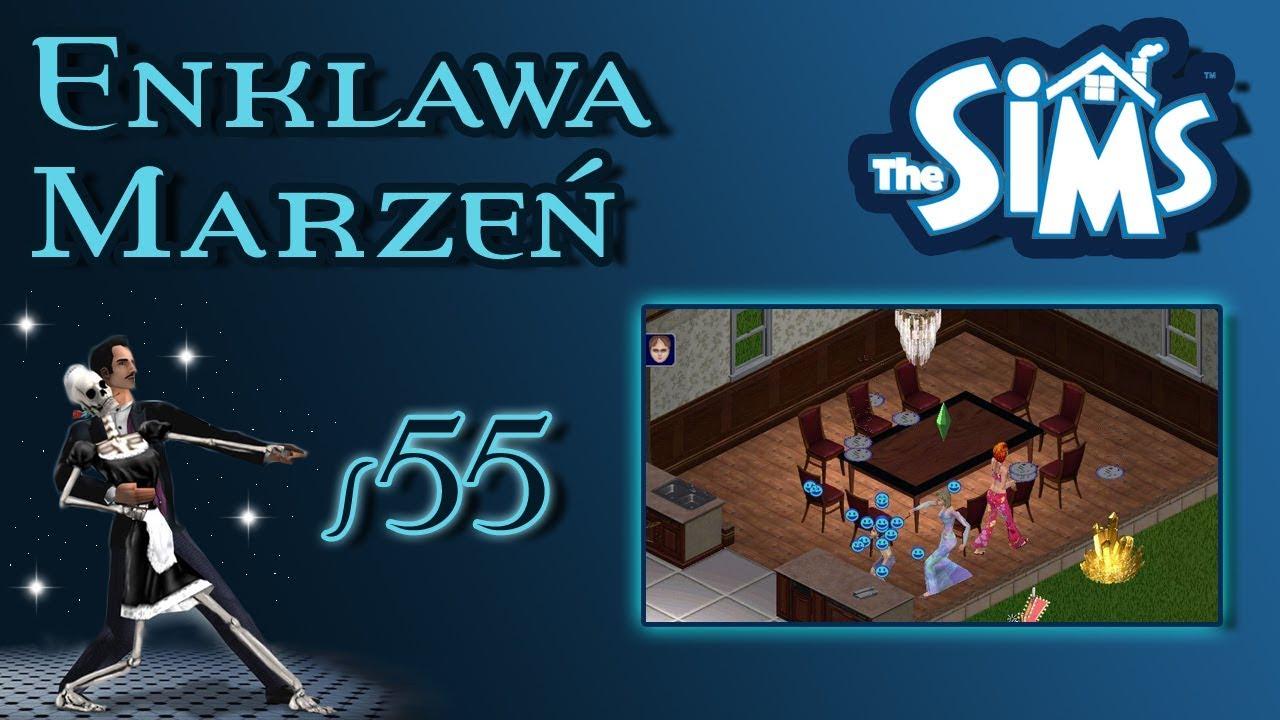 """Enklawa Marzeń odc. 55 – The Sims 1 – """"Niespodziewany prezent"""""""