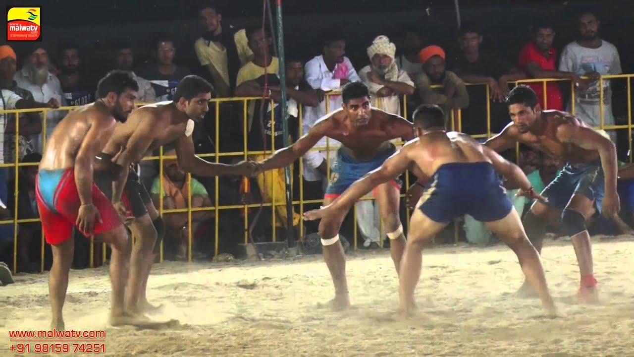 KAONKE KALAN (Jagraon) ! KABADDI OPEN SEMI-FINALS - 2015 ! Full HD ! Part 4th.
