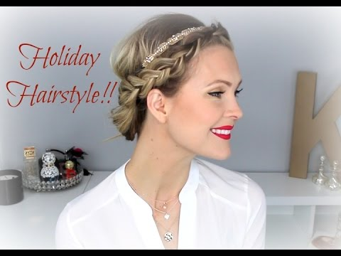 Simple, Beautiful Holiday Up do!