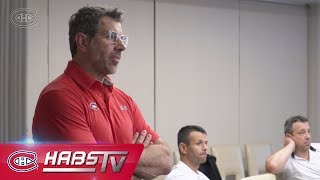 Behind the scenes: Marc Bergevin and staff mic'd up at the 2018 NHL Draft