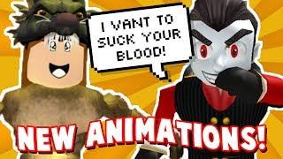 NEUE ROBLOX ANIMATION PACKS! Vampir und Werwolf | Animations-Pack-Schaufenster