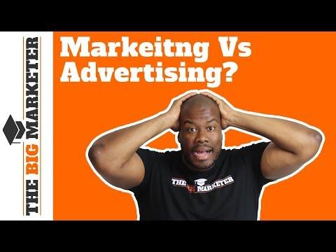 Marketing Vs Advertising - Marketing Wins!
