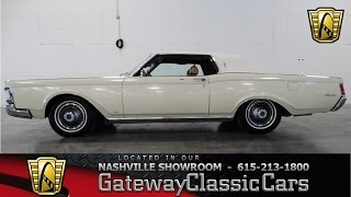 1969 Lincoln Continental Mark III - Gateway Classic Cars of Nashville #70