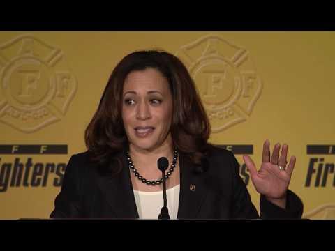 Sen. Kamala Harris (D-CA) - IAFF Legislative Conference 2017