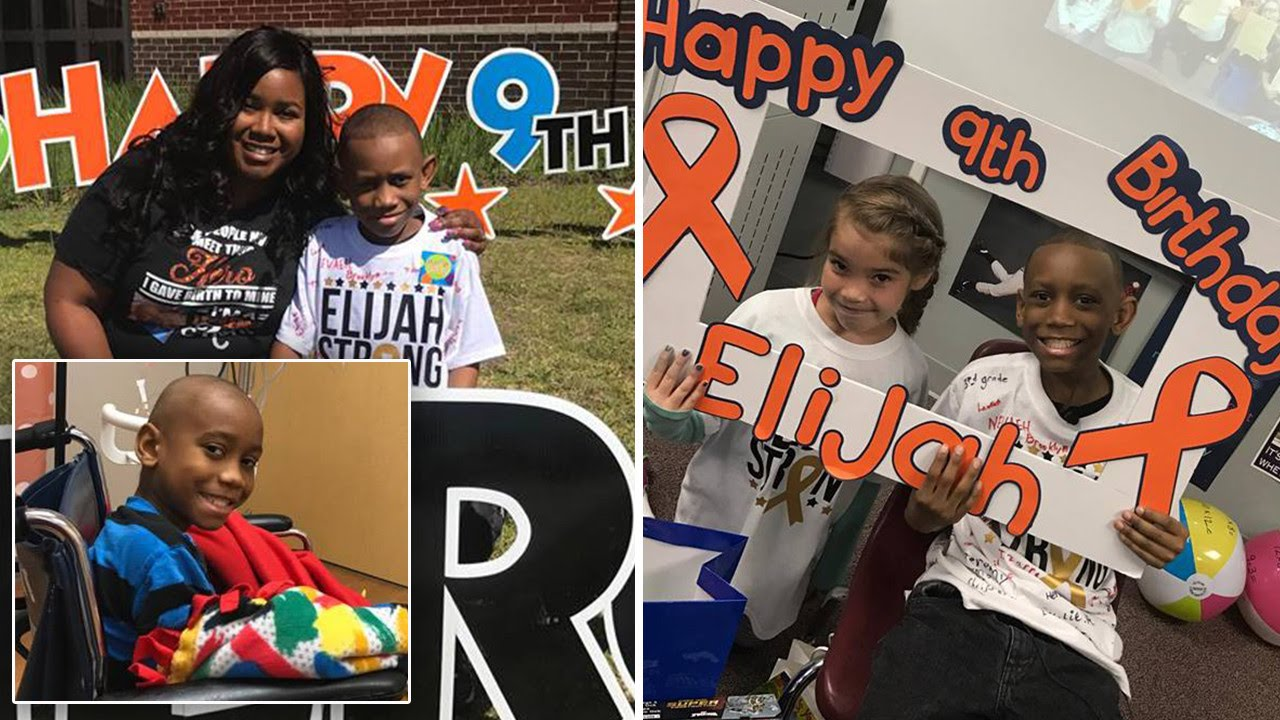 3rd Graders Throw 9 Year Old Boy Battling Leukemia Surprise Birthday Party