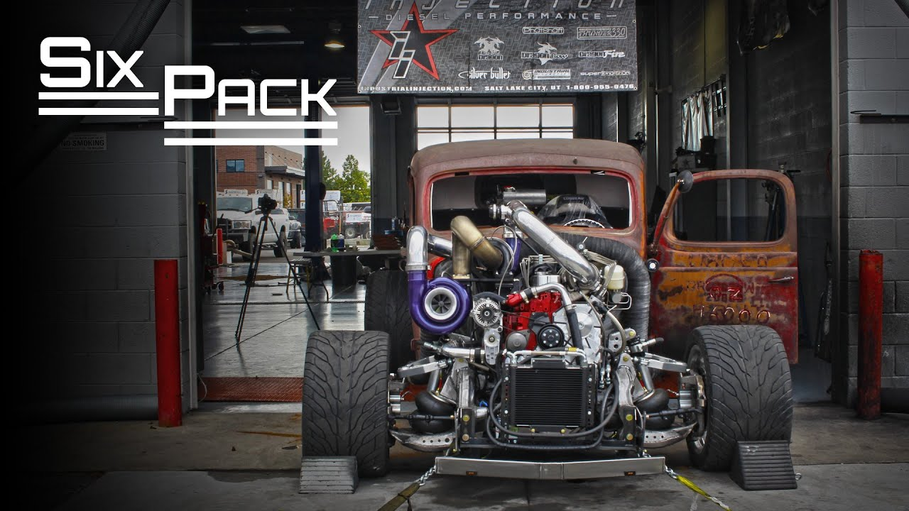 "Premier Performance ""Six Pack"" Rat Rod - 1000HP 12 Valve ..."