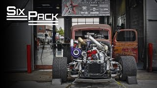 "Premier Performance ""Six Pack"" Rat Rod - 1000HP 12 Valve Cummins"