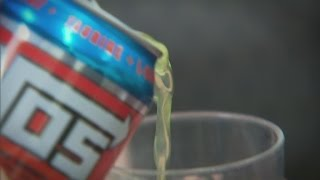 Energy drink risks for kids