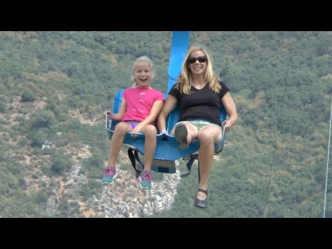 Soaring Eagle Zipline - Glenwood Caverns (HD)