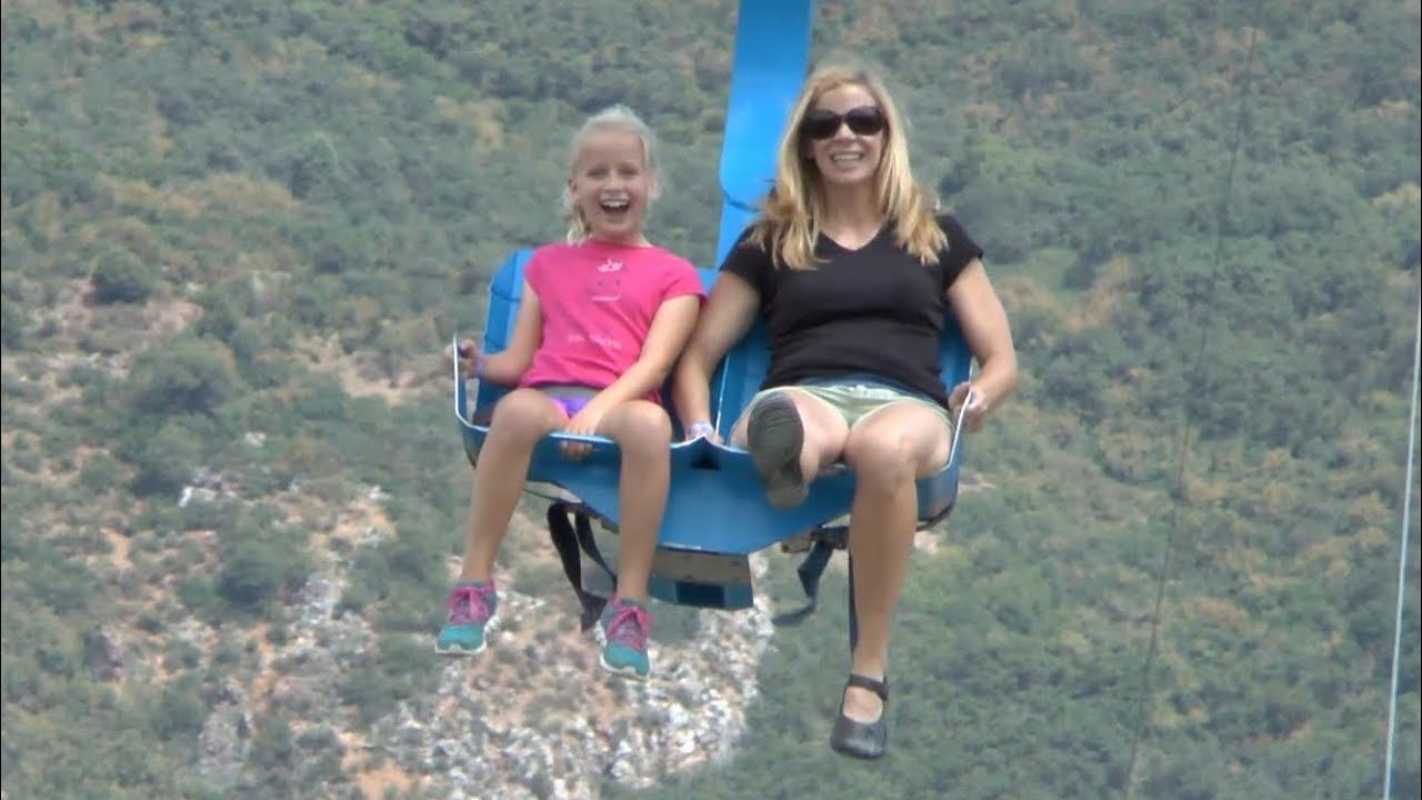 Soaring Eagle Zipline Glenwood Caverns Hd Youtube