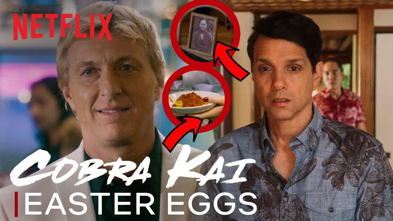 23 Easter Eggs & Callbacks In Cobra Kai: Season 3   Netflix