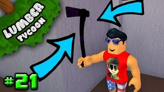 Lumber Tycoon Ep. 21: GETTING END TIMES AXE | Roblox