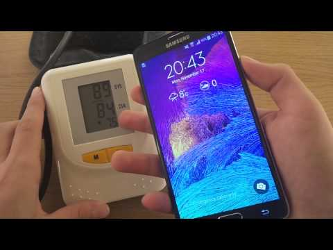 Medical Heartrate Monitor Vs. Samsung Galaxy Note 4