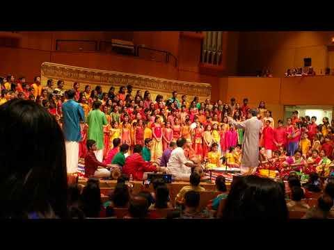 A segment of Epic choir Cleveland 2018