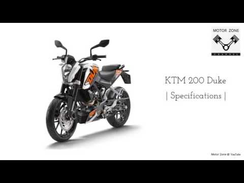 ktm duke 200 special features and specifications - youtube