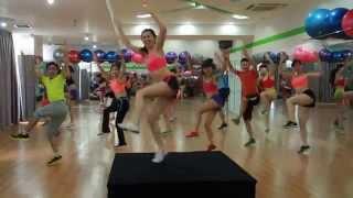 Video Clip dạy nhảy Zumba cho Đại tiệc nhảy Zumba và World Cup hồng 2014