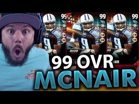 99 OVERALL MCNAIR!!! MADDEN 17 PACK OPENING