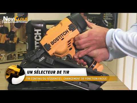 NOVICLOUS | Cloueur Bostitch BF33-E sur batterie