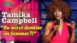 Tamika Campbell – Die nervigsten Fragen an Schwarze