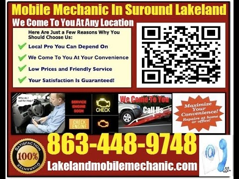 Mobile Mechanic Lakeland FL 863-448-9748 Auto Car Repair Service