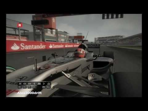 DJ Visage - Formula One (Michael Schumacher) (extended mix) F1 2010 pc montage
