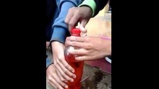 percobaan fluida dinamis.(fisika)