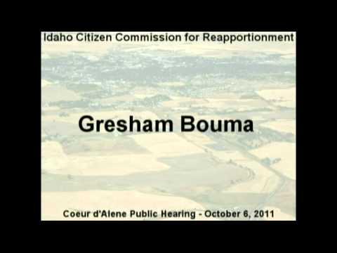 Gresham Bouma, Cd